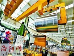 洛阳万基铝加工公司大力研发高端食品包装产品
