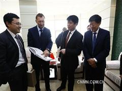 俄铝董事长德里帕斯卡率团访问魏桥集团