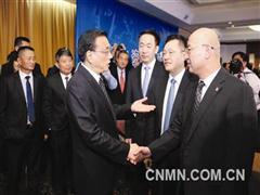 葛红林、何文波参加中秘企业座谈会