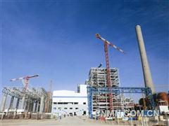 十五冶四公司承建宁夏中卫电厂主体结构完工