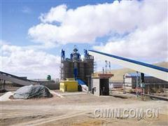 十五冶三公司蒙古国蒙欣水泥厂工程实现投料试生产