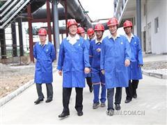 葛红林指示广西分公司加快技术改造 确保利润目标