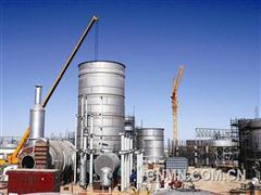 中国恩菲纳米比亚硫磺制酸项目进入施工高峰期。