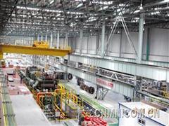 六冶机电承建东轻8000吨铝板拉伸生产线纪实