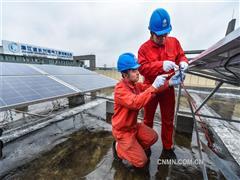 浙江长兴:光伏产业快速发展清洁能源