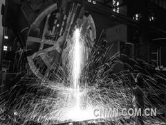 中信重工合浇出口德国油压机上横梁铸锻件