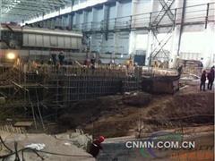 西南铝GX三期35吨熔铸机组开始基础施工