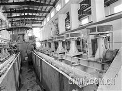 宜春钽铌矿安装调试水力旋流器组获得成功