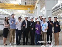 香港股评家对天津忠旺生产基地进行调研