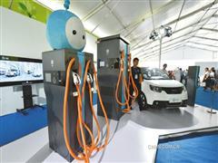 """世界最高容量""""超级锂电池""""亮相科博会"""