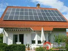 胶州闲置民房屋顶将变光伏电站