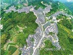 山顶布满光伏板能源结构再优化