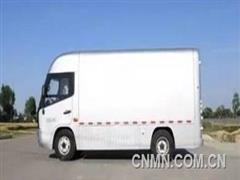 """铝应用:全铝车身物流车""""轻舟""""面世"""