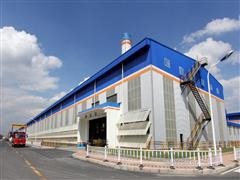 铝镁锰合金围护板在遵义铝业投入使用