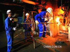 金隆铜业冶炼炉火二十二载不灭