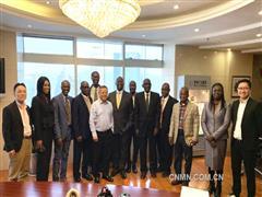 加纳政府铝业代表团到博赛集团考察交流