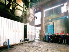 将铅锌密闭鼓风炉打造成节能降耗炉 葫芦岛有色挖出新潜力焕发新活力