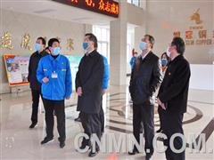 安徽省新冠肺炎疫情防控工作督导检查组到铜冠铜箔公司督查