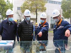 惠建林到华中铜业检查指导疫情防控和复工复产工作