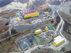 玉龙铜矿改扩建工程破碎站及隧道工程4个隧道全部贯通