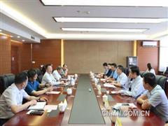 葛红林会见广东广晟董事长刘卫东一行