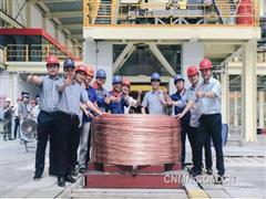 年内新增产值50亿!金田铜业高导高韧铜线项目试生产