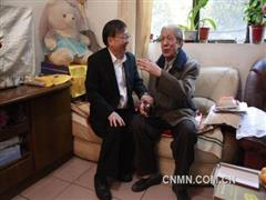 中国恩菲领导走访慰问抗美援朝老兵
