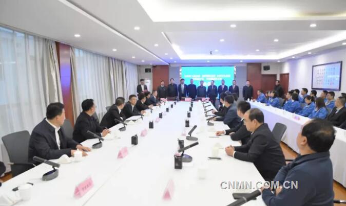白银集团与振烨国际集团、白银市政府签订合作框架协议