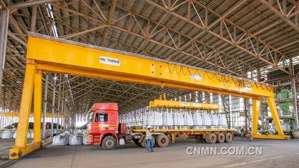 卡库拉铜矿一期一序列选厂即将达产 二序列土木工程完成90%